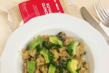 Fitness recipes: quinoa rice for a healthy lunch