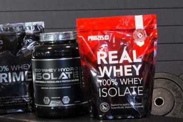Quali sono i migliori proteine whey isolate?