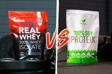 Proteína Whey x Proteína de Soja: Qual a melhor para perder peso?